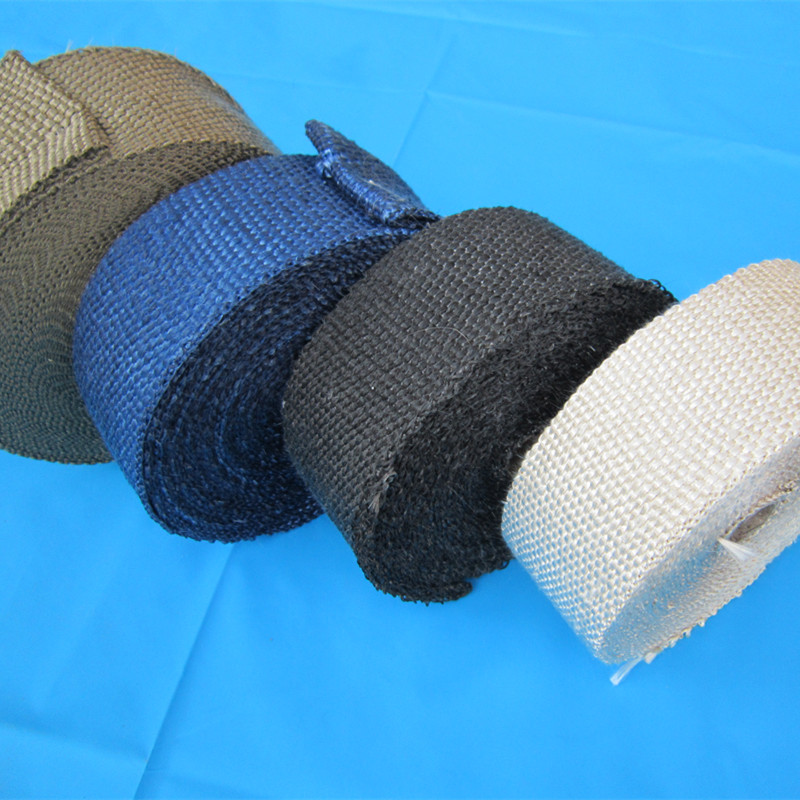 graphite black Exhaust Pipe Heat Wrap