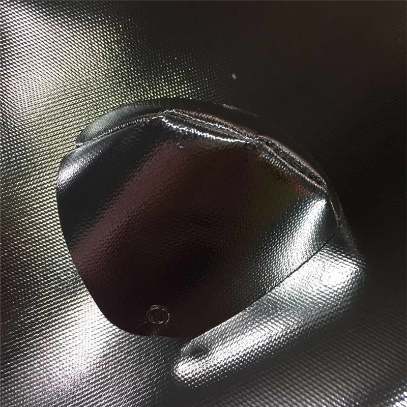 Silicone rubber Coated Aluminized Fiberglass Fabric